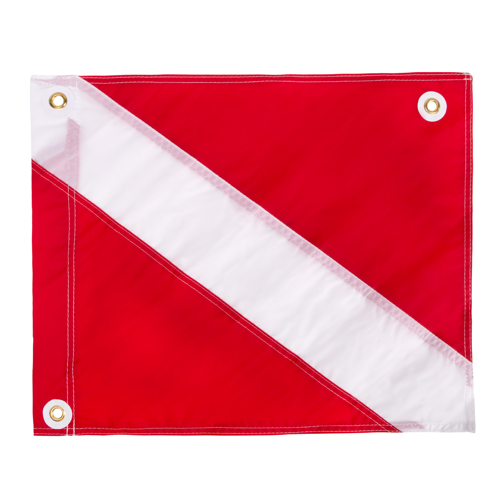 "Nylon ""Diver-Down"" flag with Metal Grommets"