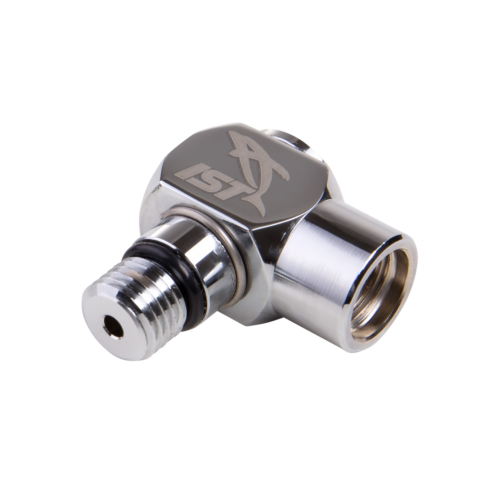 90º High Pressure Adapter