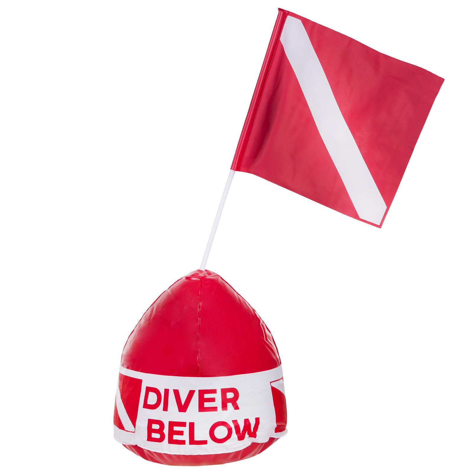 Diver Below Buoy