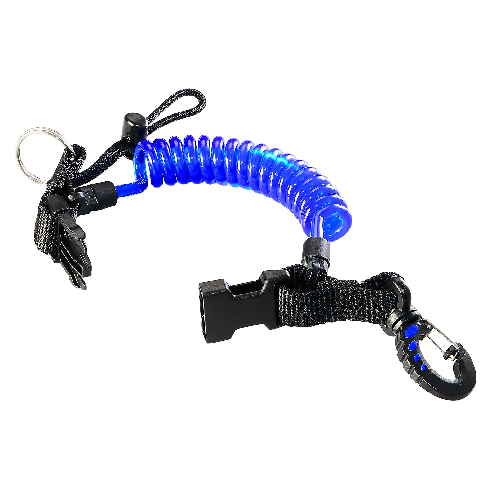 Coil Lanyard with Quick Release