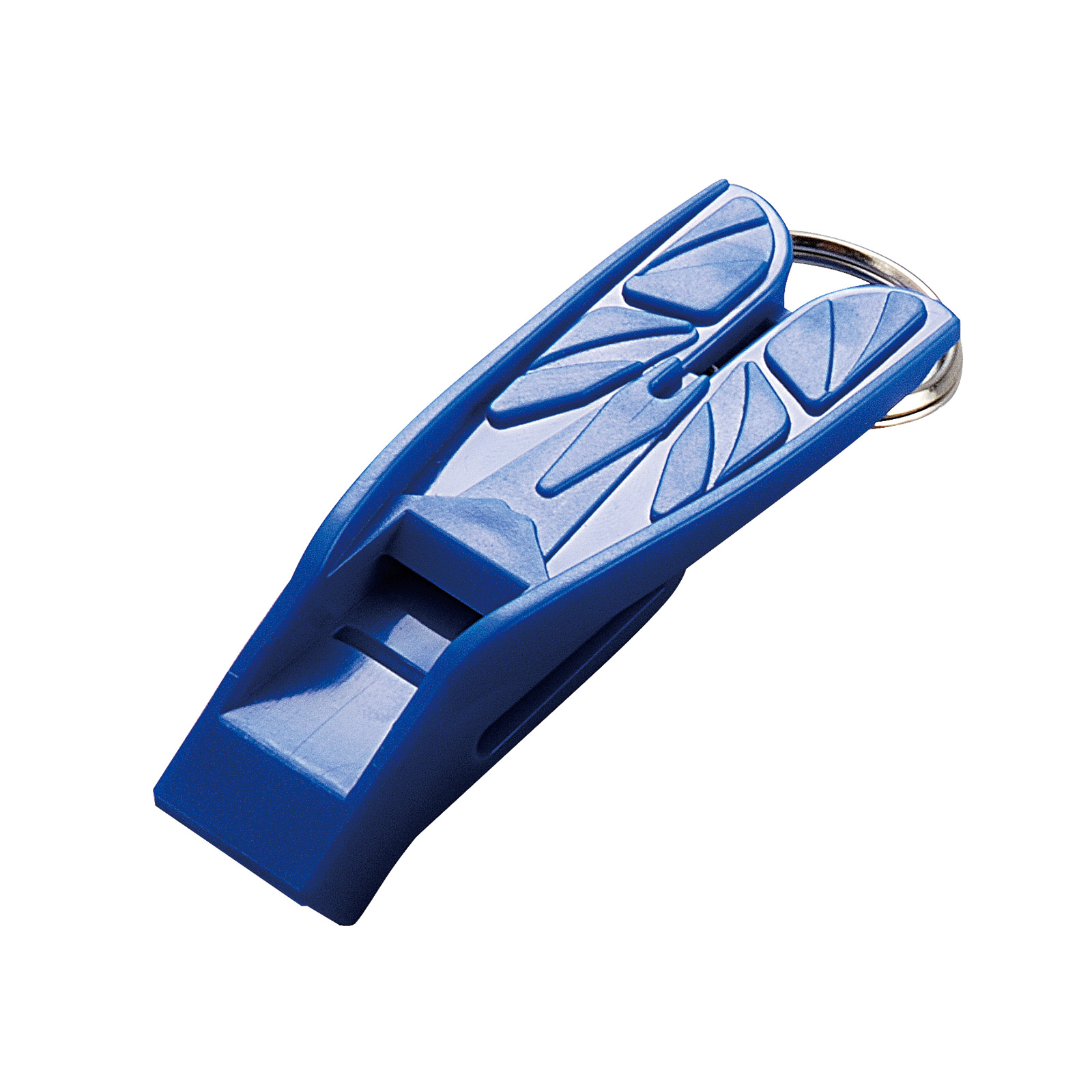 Split Fin Shaped Diver Safety Whistle
